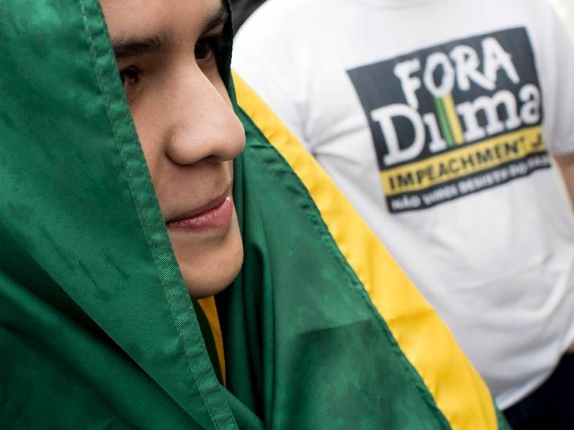 Manifestação contra o governo de Dilma Rousseff em Manaus