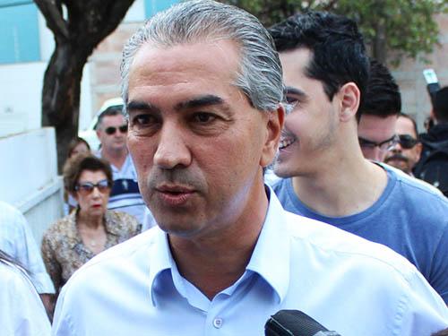 Reinaldo Azambuja (PSDB), candidato ao governo de Mato Grosso do Sul