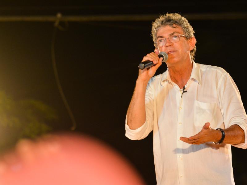 Candidato do PSB ao governo da Paraíba, Ricardo Coutinho
