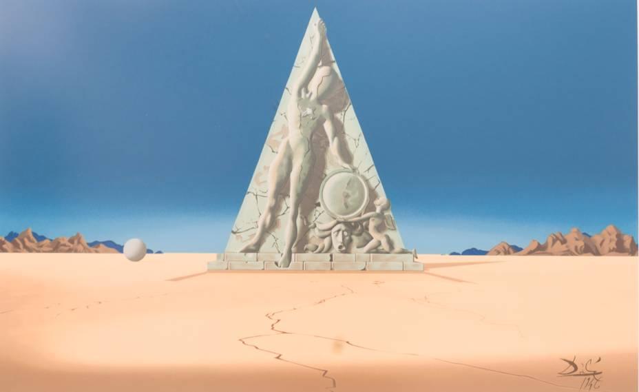 Pôster de Salvador Dalí, série Destino