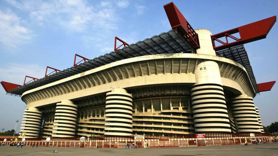 San Siro, estádio onde o Milan manda seus jogos atualmente