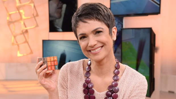 A jornalista Sandra Annenberg, da Globo