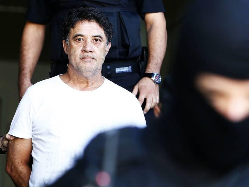 Silvio Pereira, ex-secretário geral do PT, preso na 27ª fase da Operação Lava Jato , faz exames de corpo de delito no IML de Curitiba (PR), na tarde desta sexta-feira (01)