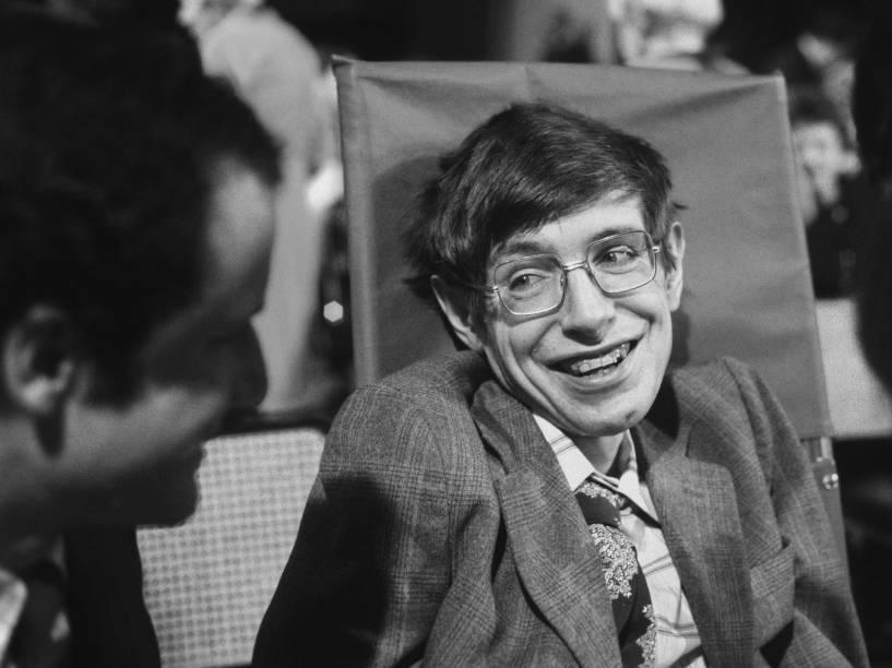 Stephen Hawking em 1979
