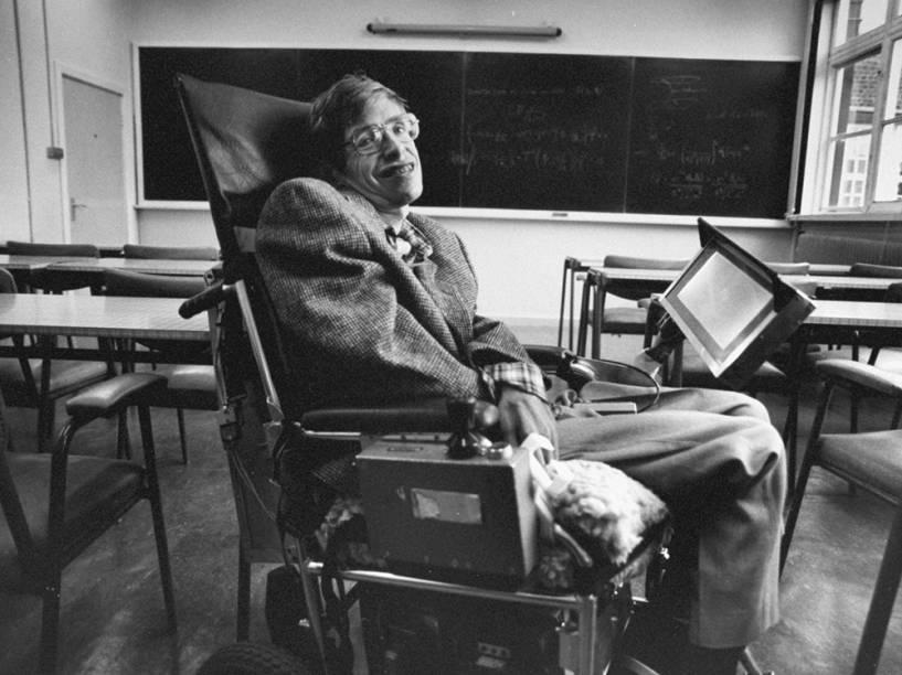 Stephen Hawking em 1988