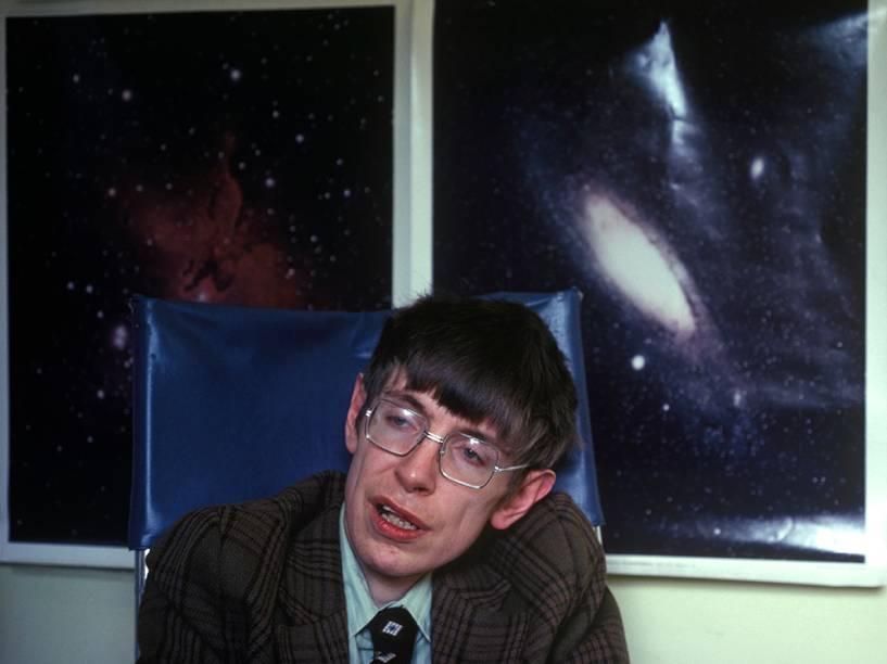 Stephen Hawking em 1990
