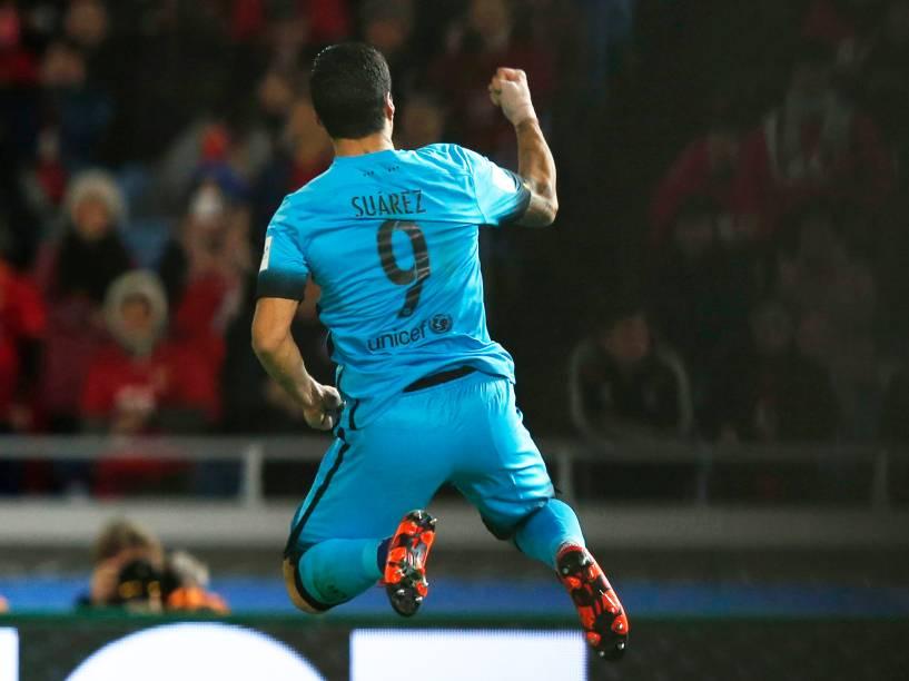 Luis Suárez marca dois gols na goleada por 6 a 0 do Barcelona B sobre a seleção sub-19 da Indonésia
