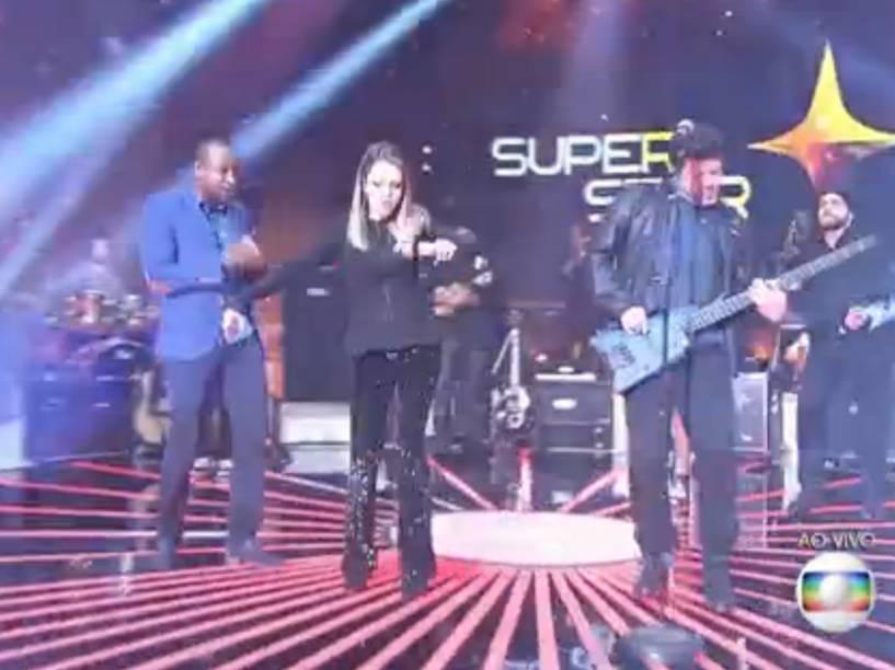 Thiaguinho, Sandy e Paulo Ricardo, os jurados de SuperStar