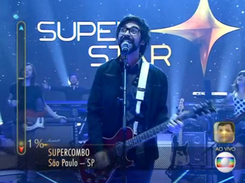 O indie rock da Supercombo agradou jurados e público, tanto que tiveram 83% dos votos