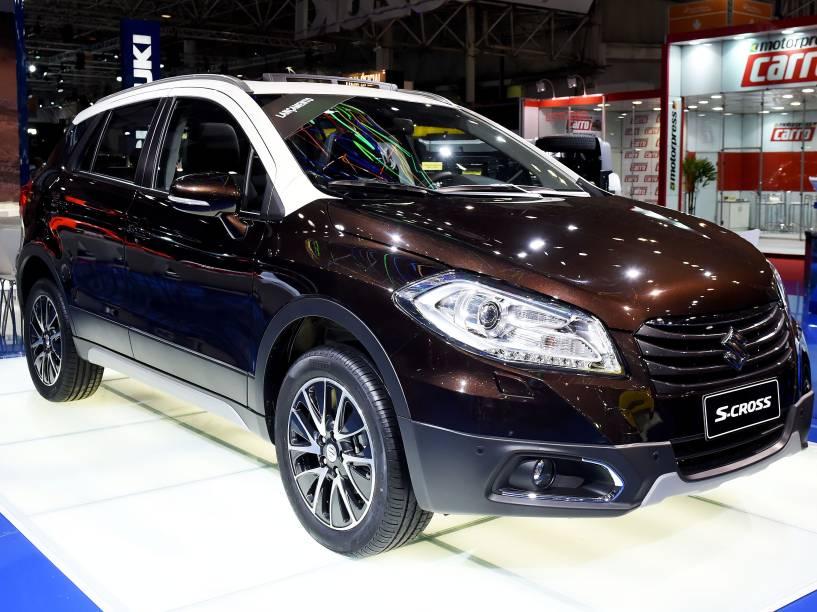 A Suzuki apresentou em seu estande no Salão do Automóvel de São Paulo a segunda geração do crossover SX4: o S-Cross
