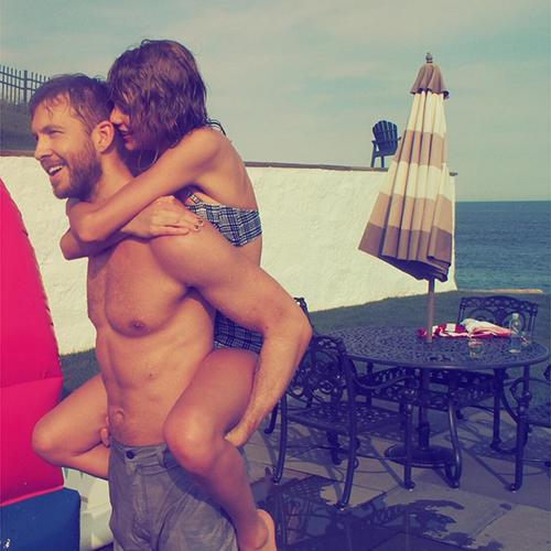 Taylor Swift comemora o dia 4 de julho com Calvin Harris
