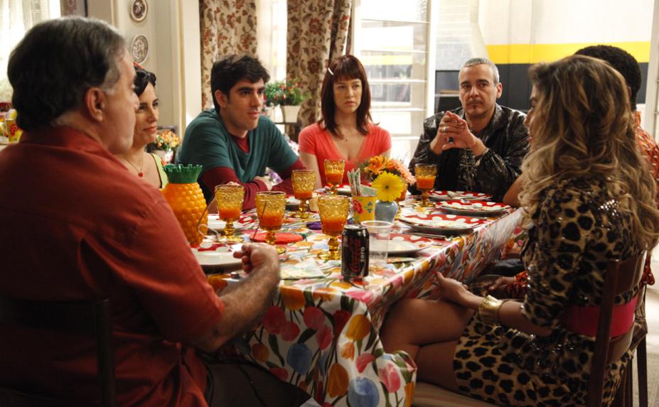 Cenas do último episódio da série A Grande Família