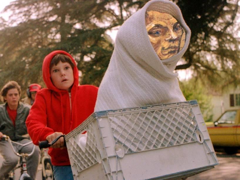 Meme do retrato de Tom Brady como o alienígena de E.T. - O Extraterrestre (1982), filme de Steven Spielberg
