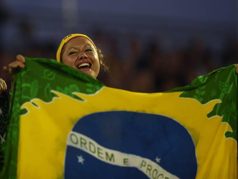 Torcida acompanha os Jogos Pan-Americanos 2015, em Toronto, Canadá
