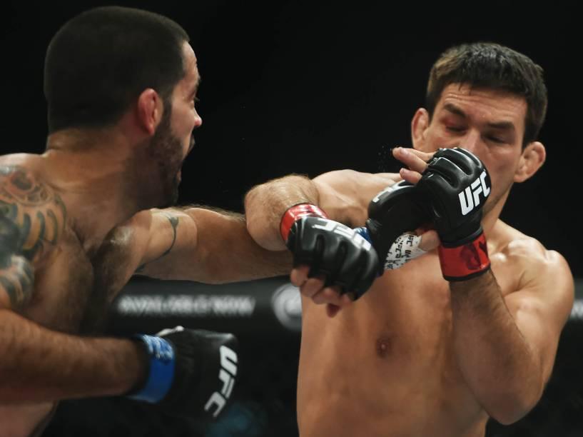Demian Maia disputa o UFC 198 na Arena da Baixada, em Curitiba