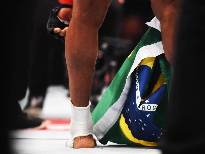 """Francisco """"Massaranduba"""" Trinaldo disputa o UFC 198 na Arena da Baixada, em Curitiba"""