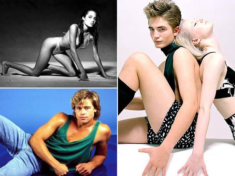 Confira as imagens das primeiras experiências de celebridades como modelos