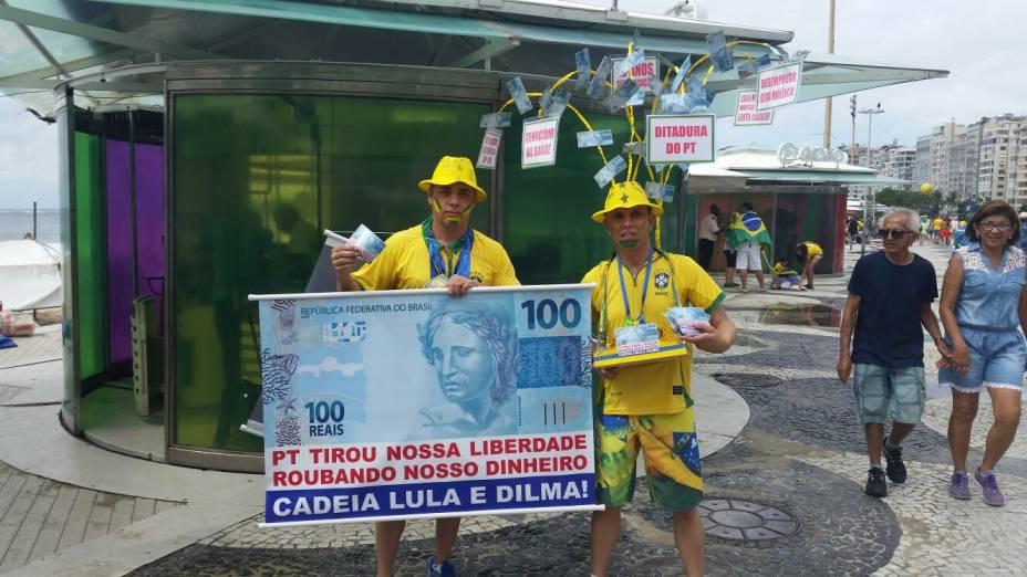 Carlos Adriano Rodrigues, 52 anos, e Ademilson Vasconcellos, 42 anos