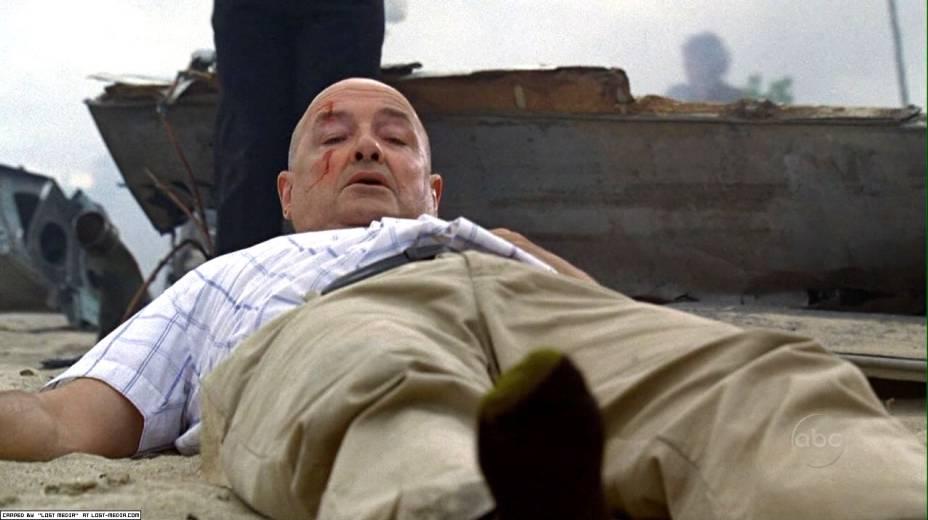 Locke (Terry OQuinn) na série Lost