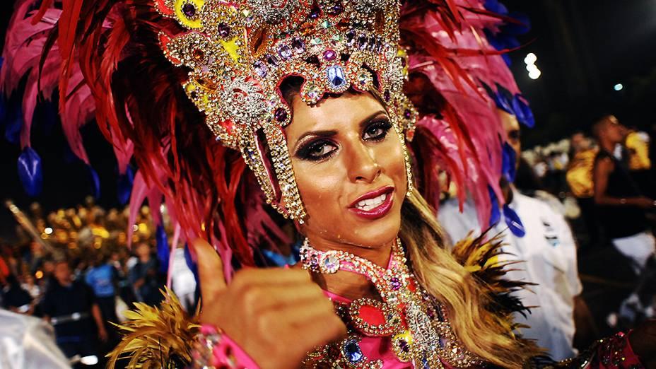 Ana Paula Minerato, musa da Gaviões da Fiel