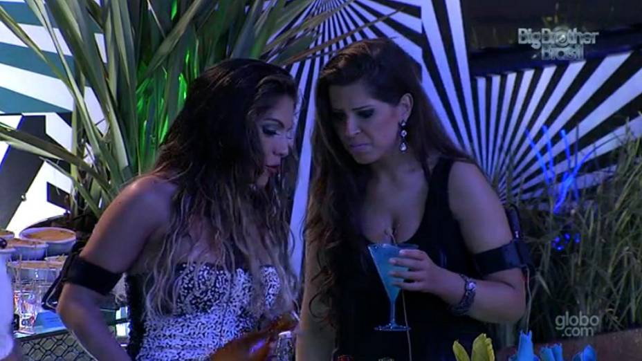 Anamara e Andressa no BBB 13