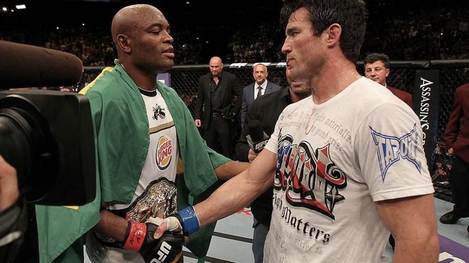 Anderson Silva derrota Chael Sonnen no UFC 148, em Las Vegas