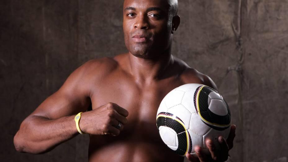 Seu sonho era ser lateral-esquerdo, mas Anderson Silva tornou-se um ícone dentro do ringue
