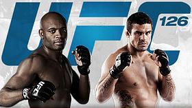 Cartaz da luta entre Victor Belfort e Anderson Silva, pelo UFC 126