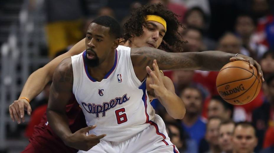 Anderson Varejão, do Cleveland Cavaliers, em partida contra o Los Angeles Clippers