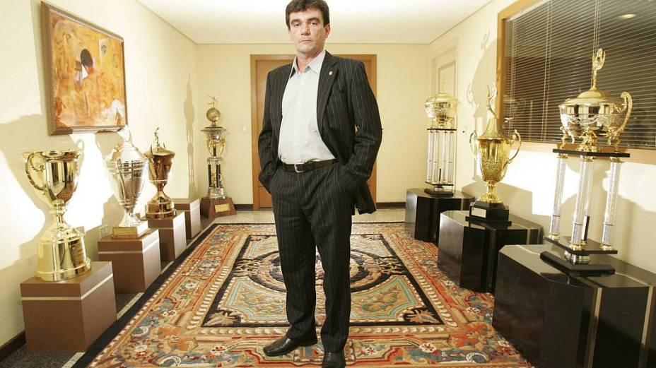 Andrés Sanchez, ex-presidente do Corinthians, que assumiu o cargo de diretor de seleções da CBF ainda com Ricardo Teixeira na presidência