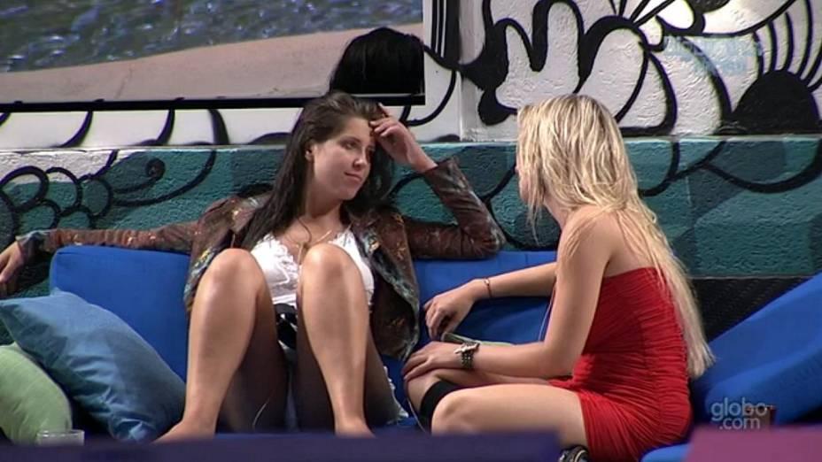 Andressa e Fernanda no BBB 13