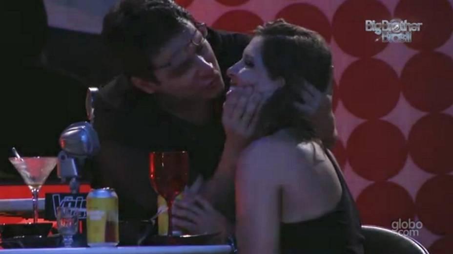 Andressa e Ivan no BBB 13