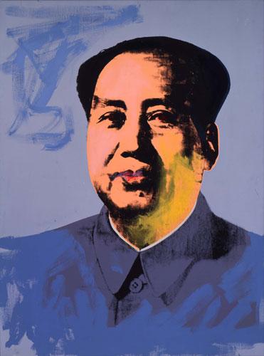 A versão maquiada do comunista chinês Mao Tse-tung.