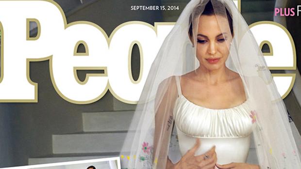 Angelina Jolie na capa da revista People