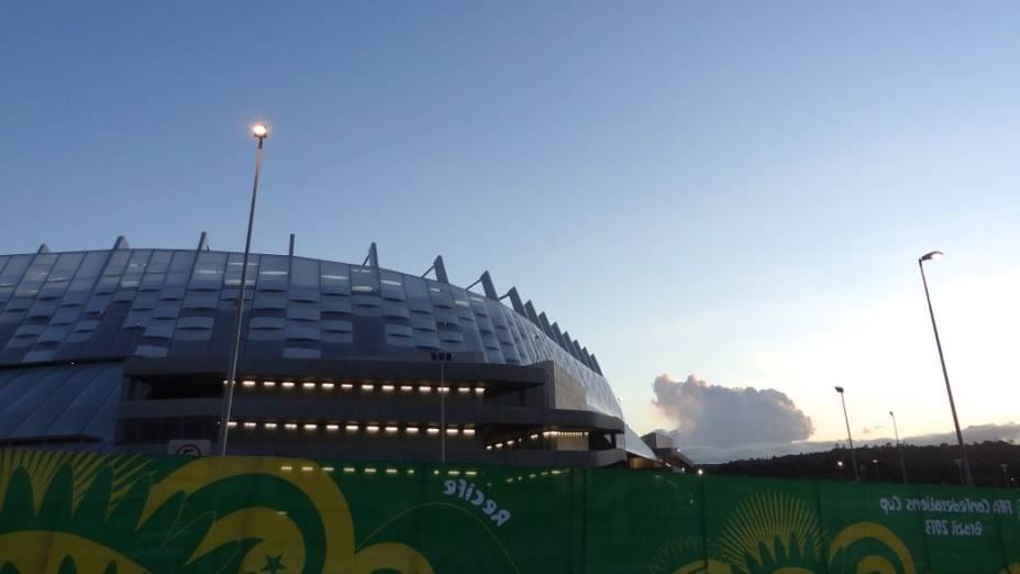 Arena Pernambuco, a Área 51 do Recife: longe dá órbita normal do morador da cidade