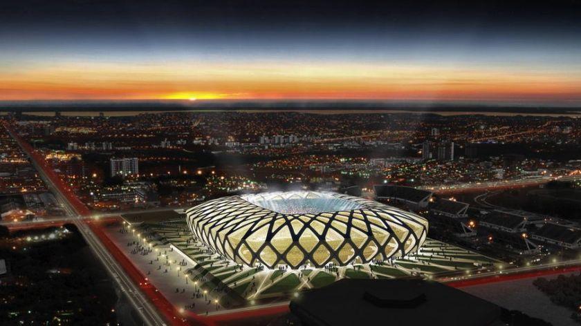 O projeto da Arena da Amazônia, em Manaus