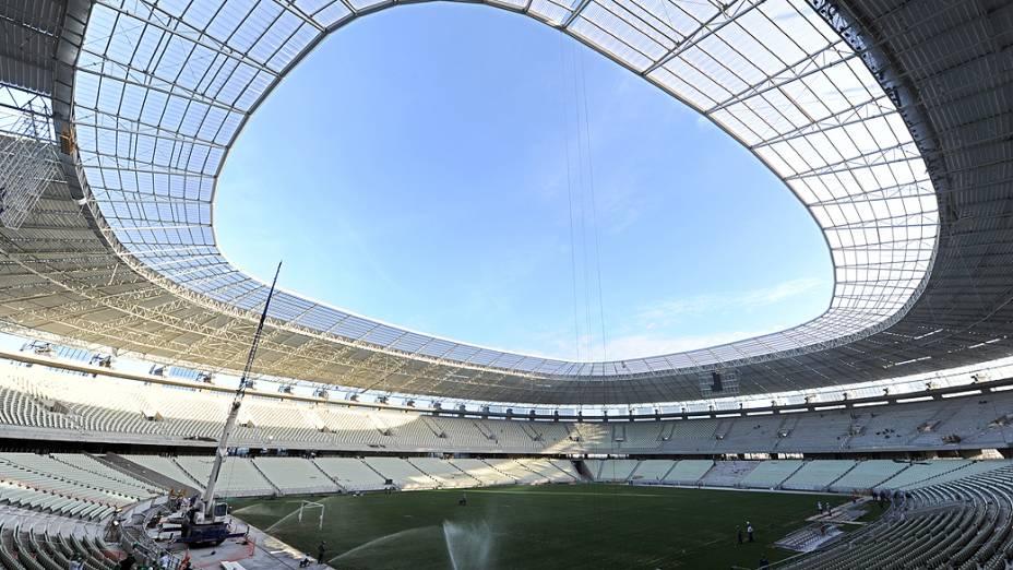Na reta final da reforma da Arena Castelão, em Fortaleza