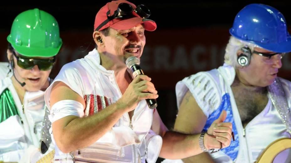 Armandinho, Dodô e Osmar no carnaval de Salvador, em 20/02/2012