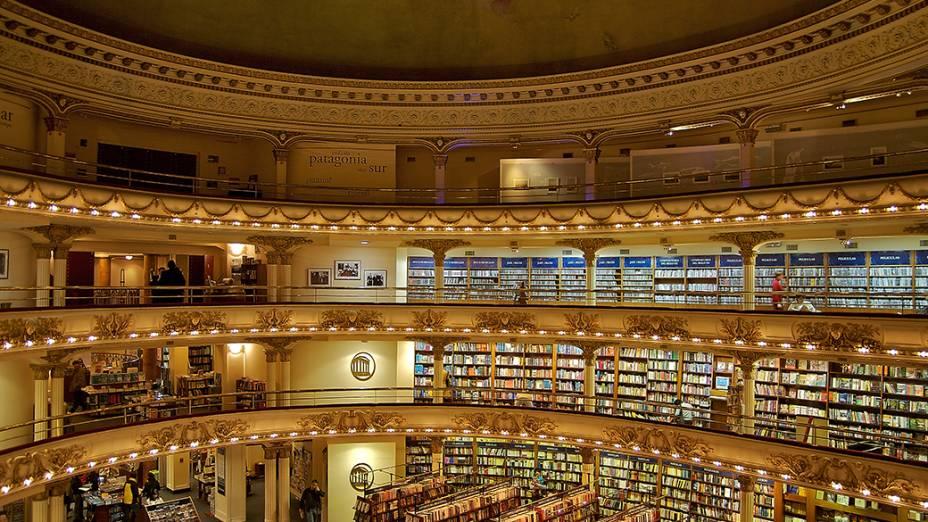Livraria Ateneo Grand Splendid em Buenos Aires, na Argentina