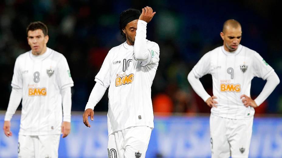 Ronaldinho Gaúcho, após a derrota para o Raja Casablanca no Mundial de Clubes
