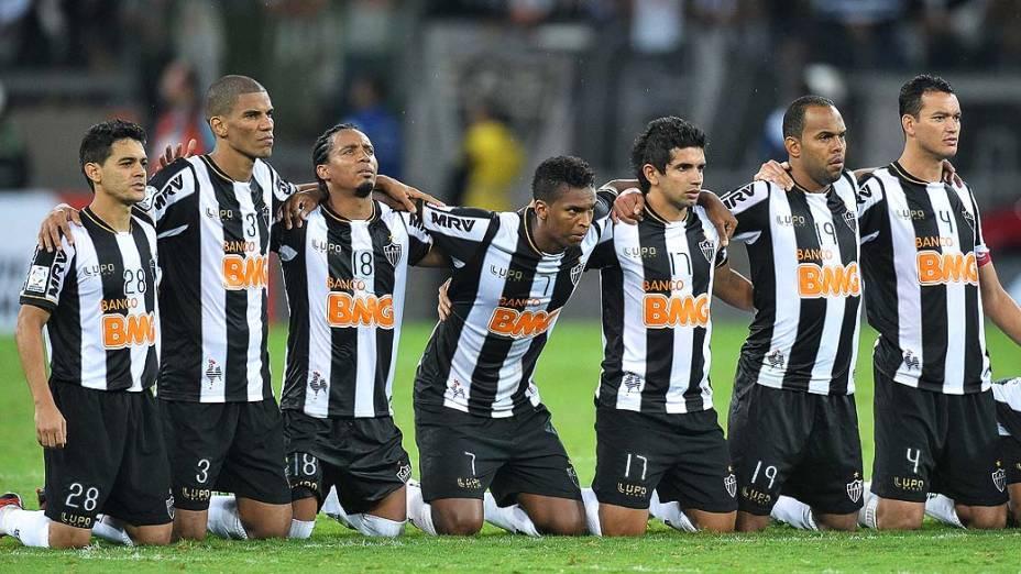 Partida entre Atlético MG e Olimpia, válida pela final da Libertadores 2013, no Estádio do Mineirão, em Belo Horizonte
