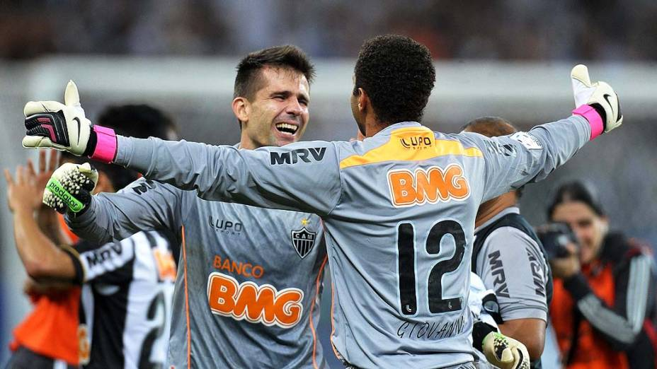 Atlético MG comemora conquista da Libertadores 2013, no Estádio do Mineirão, em Belo Horizonte