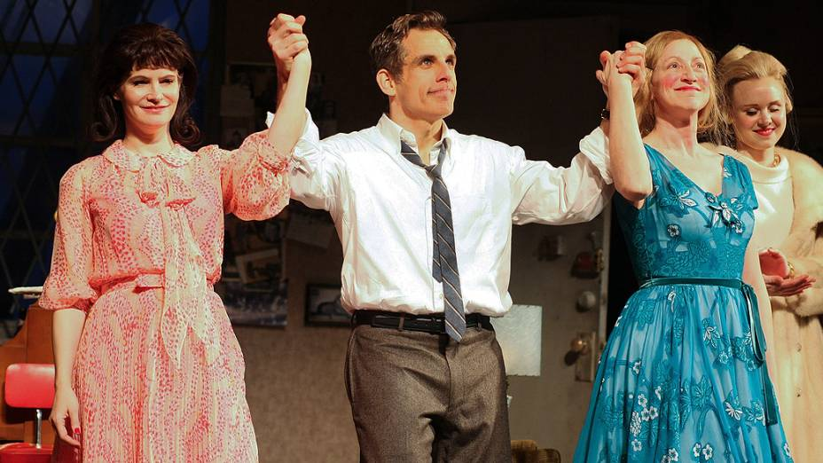 "Ator Ben Stiller na peça da Broadway ""The House of Blue Leaves"""