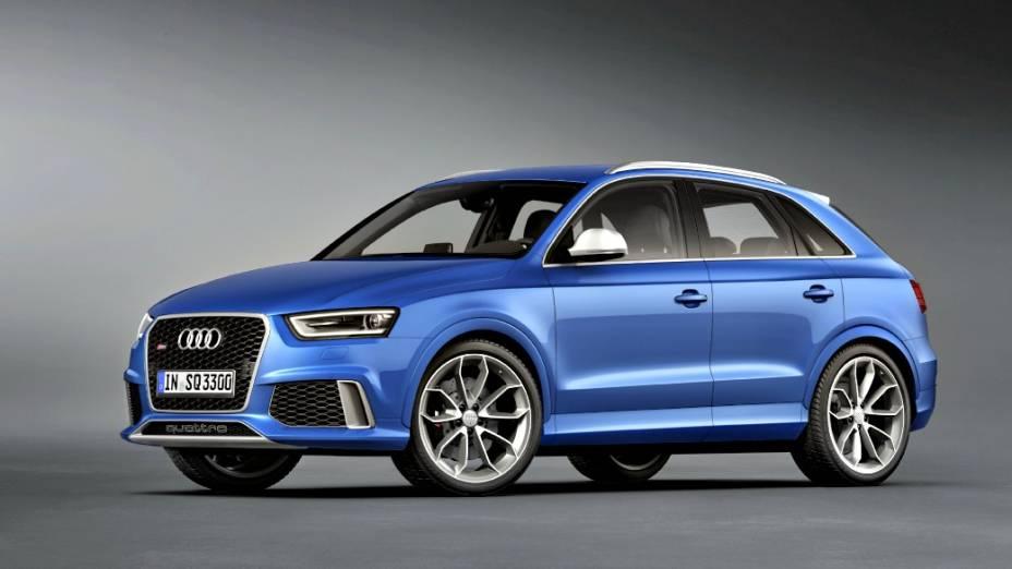 Novo Q3, versão apimentada do menor SUV da marca, tem motor de cinco cilindros, 2.5 litros, turbo, e entrega 310 cv. Faz de 0 a 100 km/h em 5,5 segundos