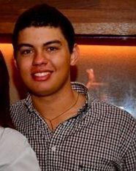 Augusto Malezan de Almeida Gomes: estudou no colégio Cilon Rosa, em Santa Maria, e torcia para o Grêmio<br>