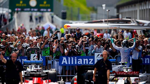 Nico Rosberg, da Mercedes, vence GP da Áustria de Fórmula 1