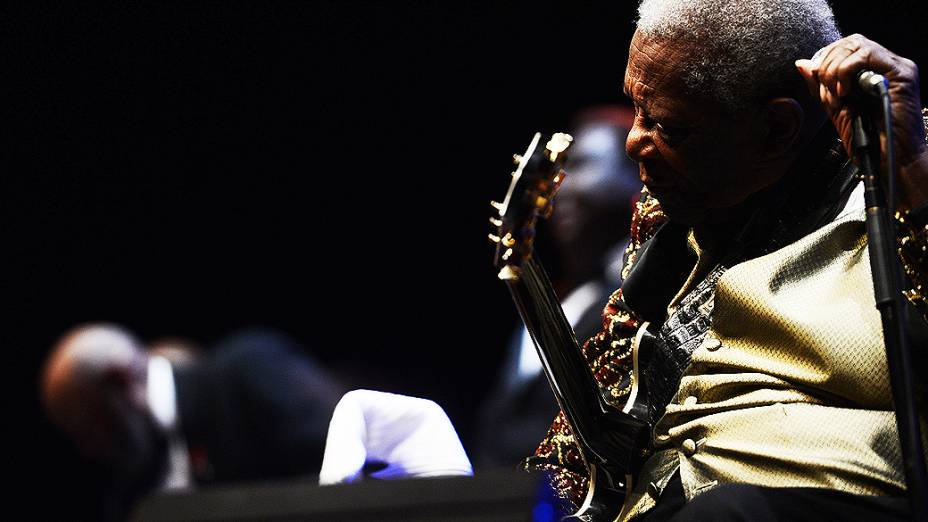 B.B. King se apresenta no Via Funchal, na capital paulista, na noite desta sexta-feira