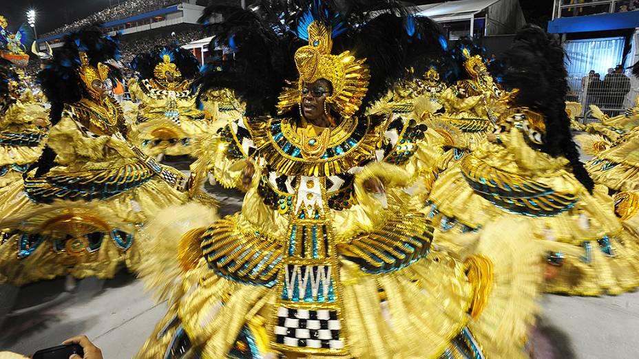 Ala das baianas no desfile da Vai-Vai