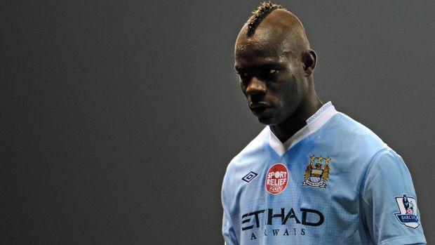 Mario Balotelli, atacante italiano do Manchester City