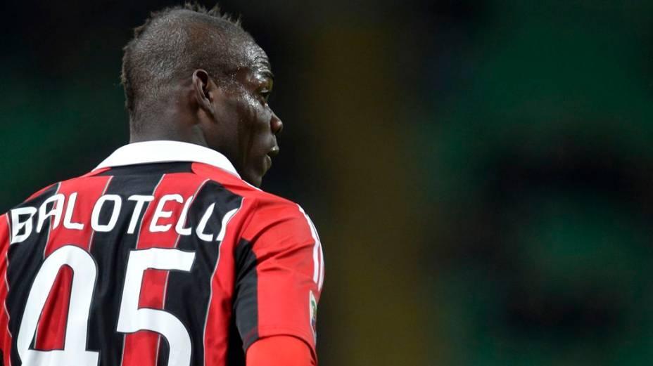 Balotelli nunca escondeu que era torcedor do Milan, mas só chegou ao clube no começo deste ano